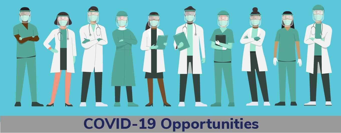 Coronavirus Jobs Banner
