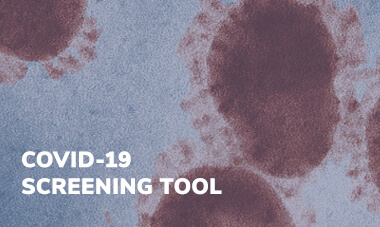 Link to the COVID-19 Online Screening Tool