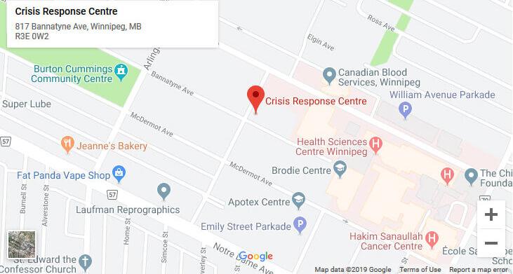 Crisis Response Centre location