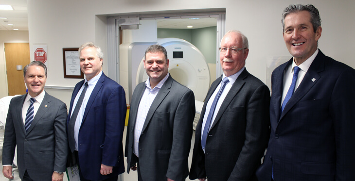New MRI Scanner Officially Opened in Dauphin